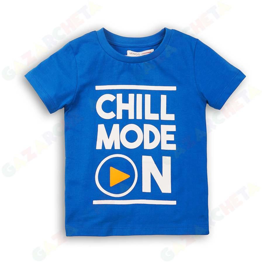 Детска тениска Chill Mode On Minoti