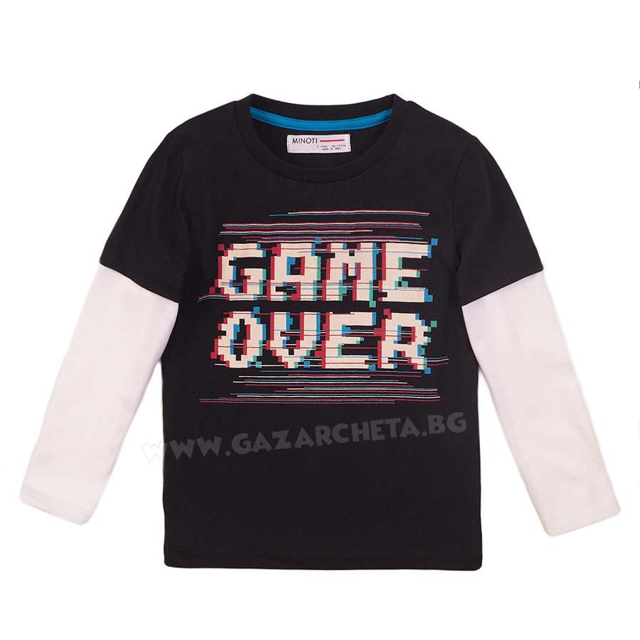 Детска блуза Game Over Minoti