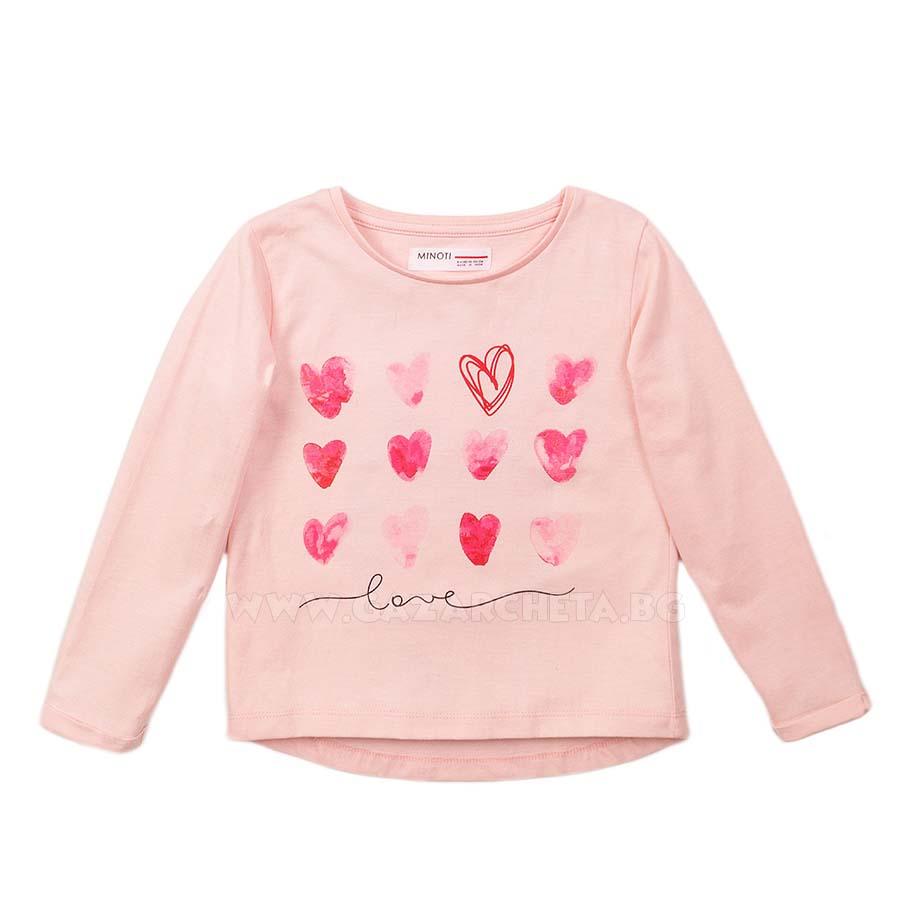 Детска блуза Minoti Love