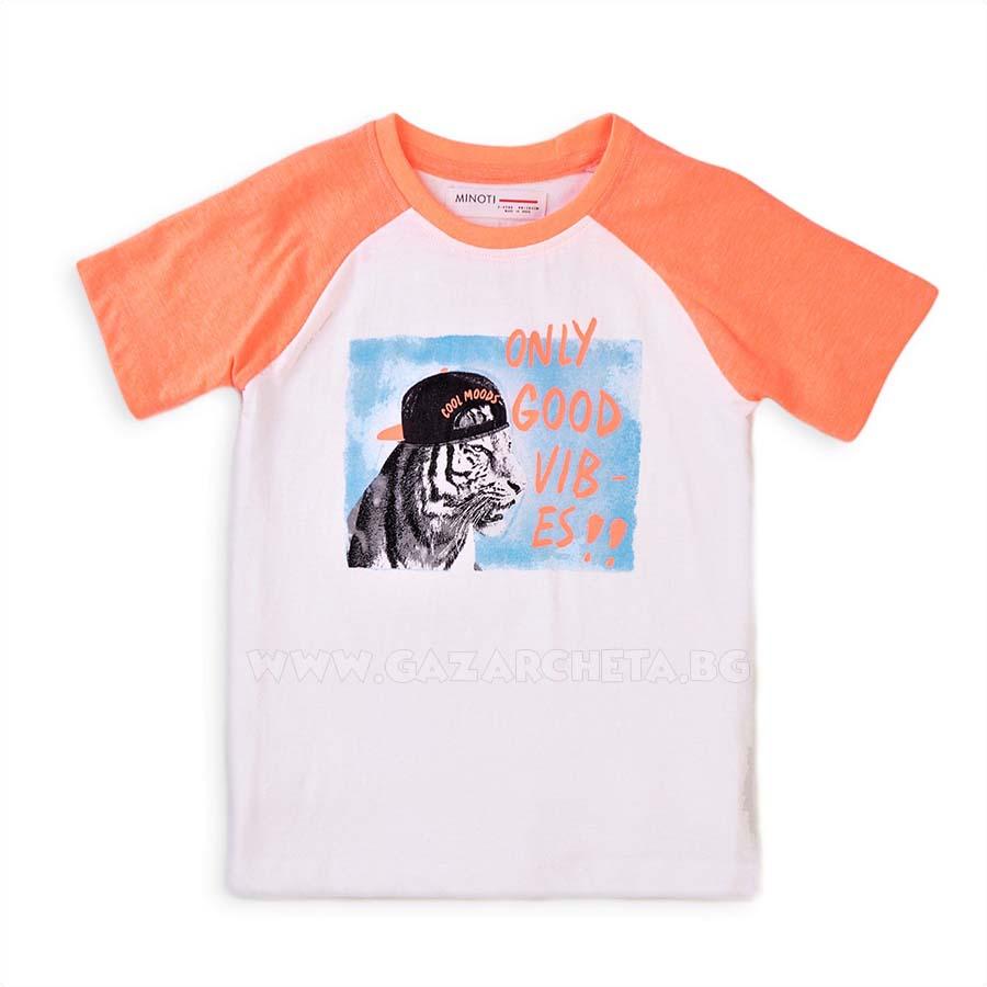 Детска тениска Good Vibes Minoti