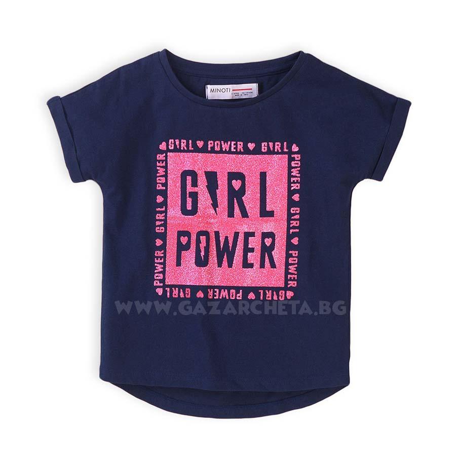 Детска тениска Girl Power Minoti