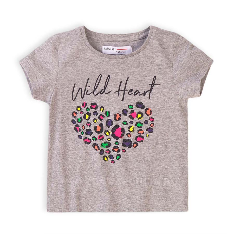 Детска тениска Сърце Minoti