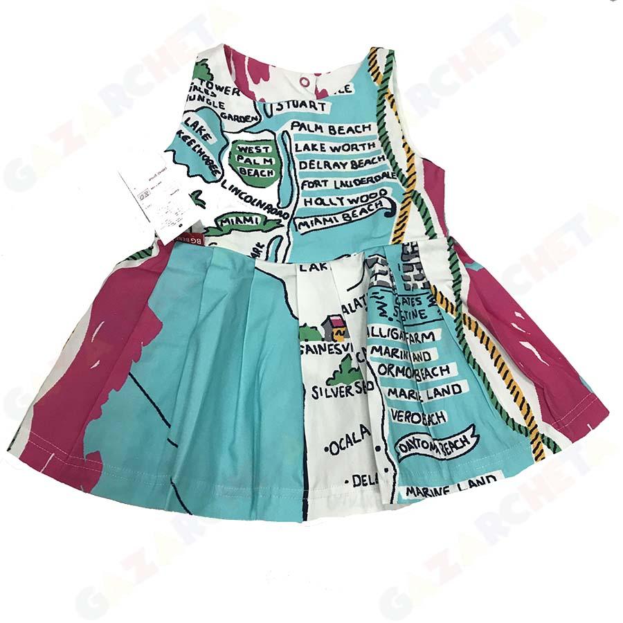 Детска рокля Карта