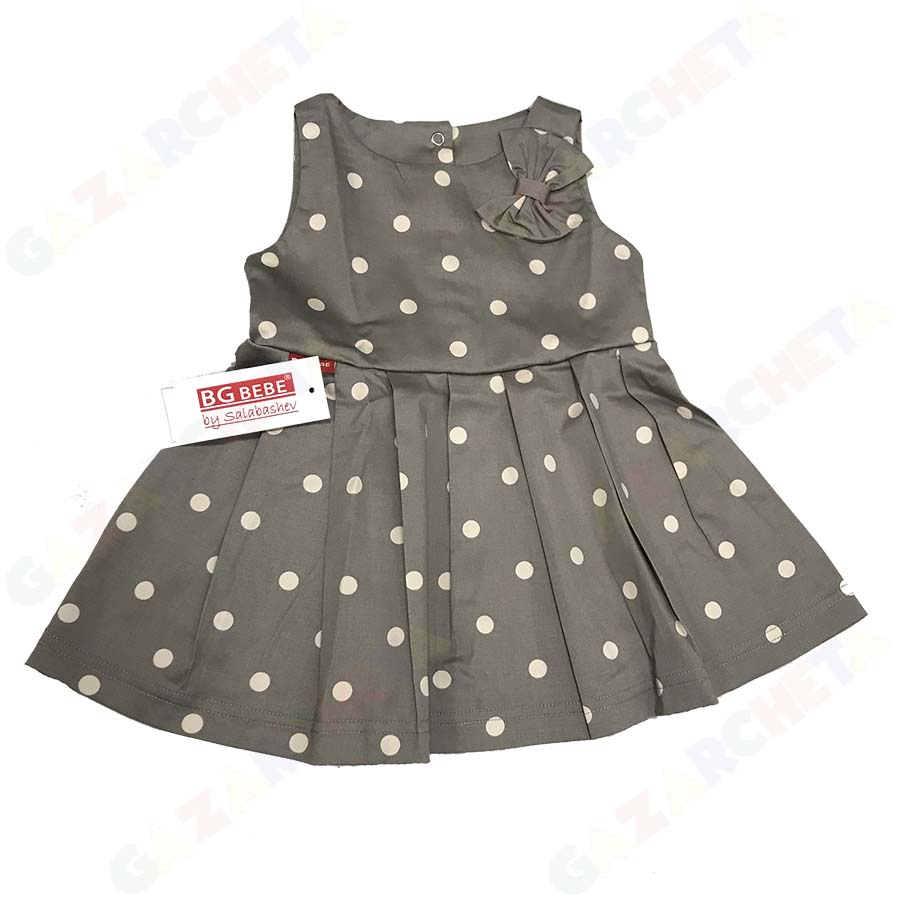 Детска рокля Точки