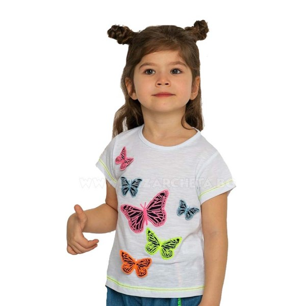Детска тениска Пеперуди Cichlid
