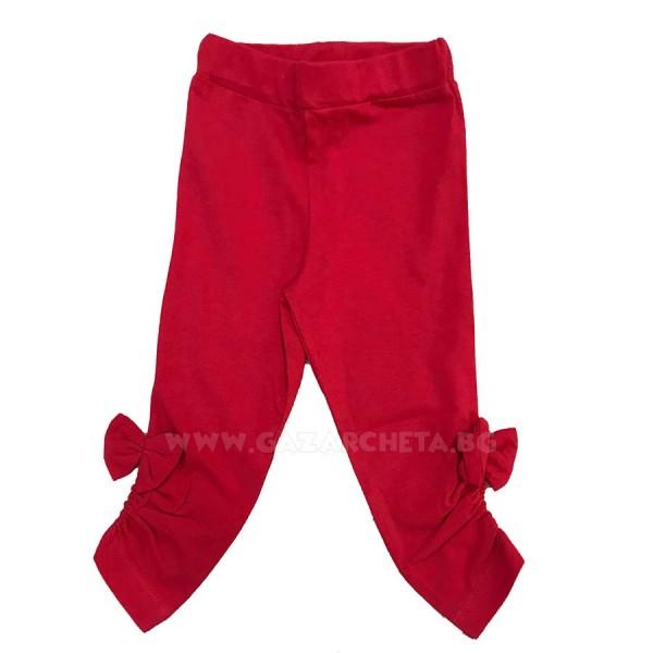 Детски клин 3D Панделка-червен
