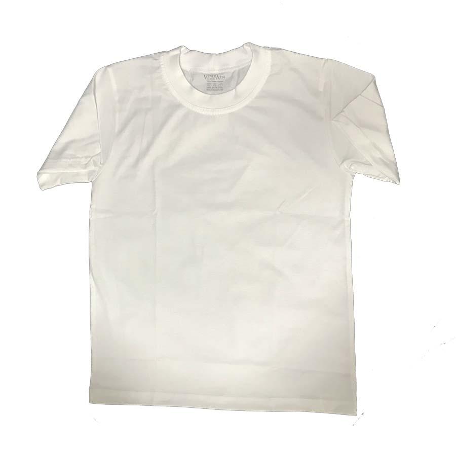 Детска тениска бяла