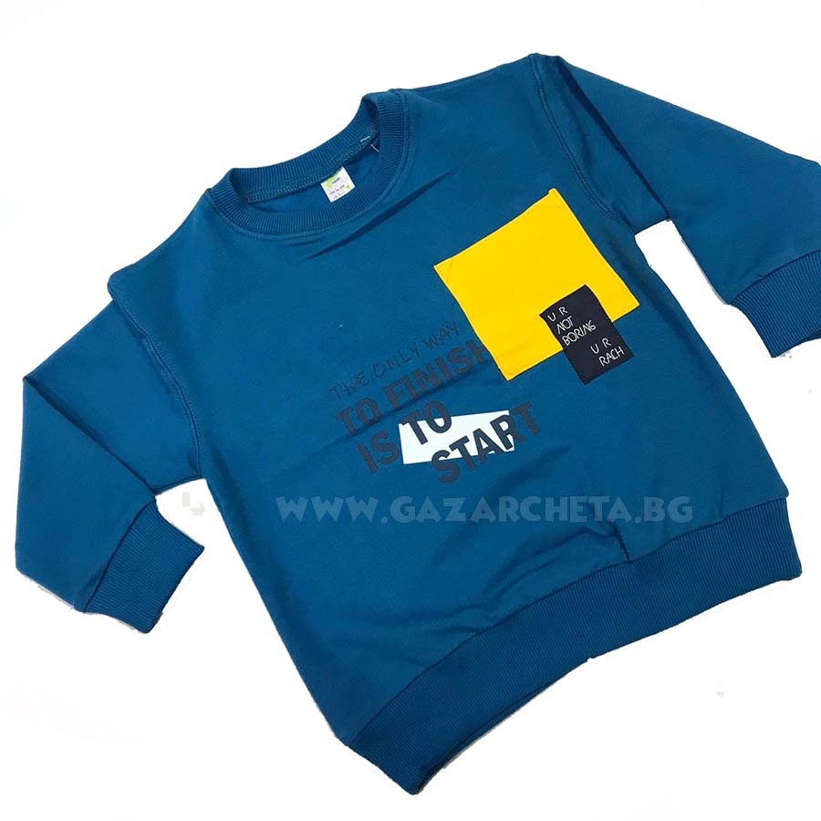 Детска блуза Rach Start