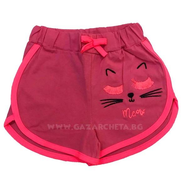 Детски къси панталони Meow