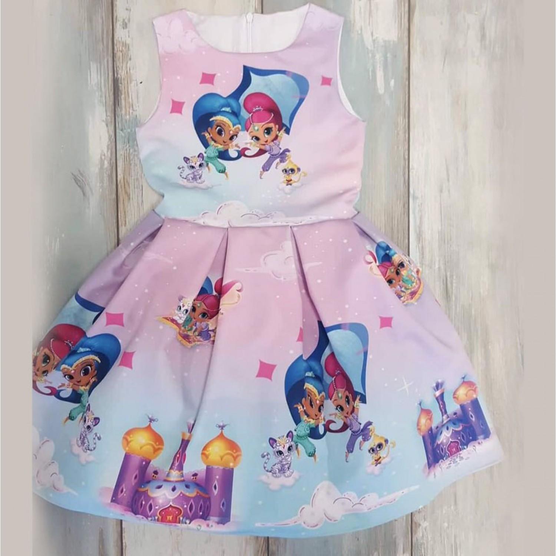 89e8f230275 Детска рокля Искрица и Сияйница