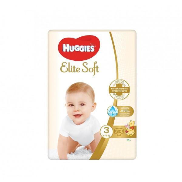 Huggies Elit Soft 3 бебешки пелени