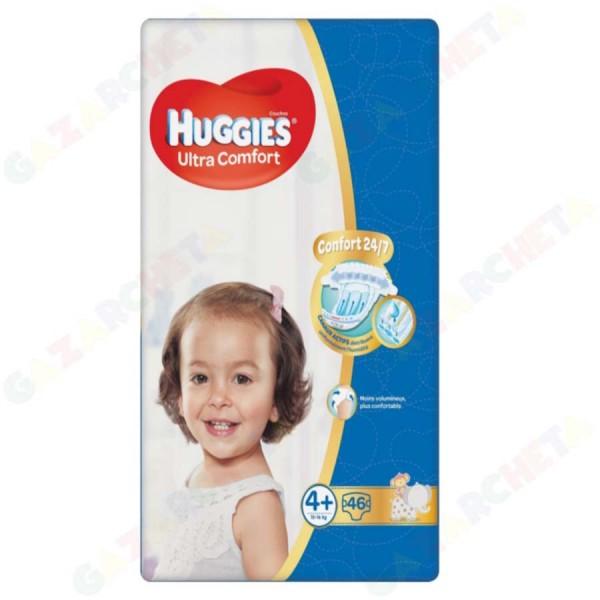 Huggies бебешки пелени, 4+
