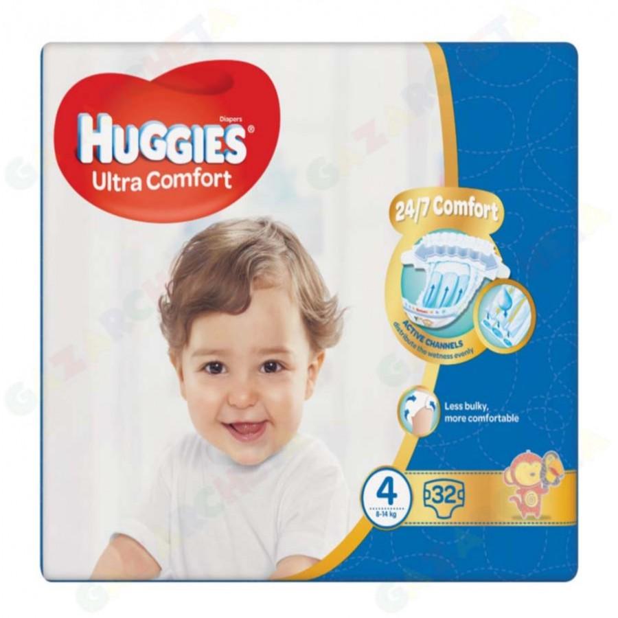 Huggies бебешки пелени, 4