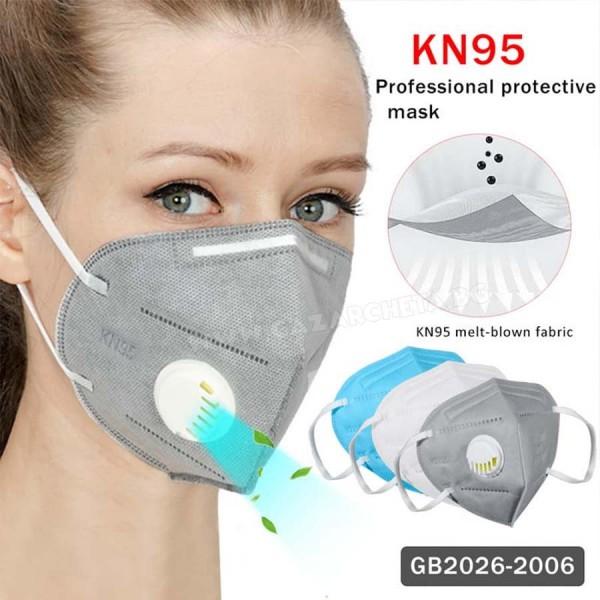Защитна маска с активен въглен