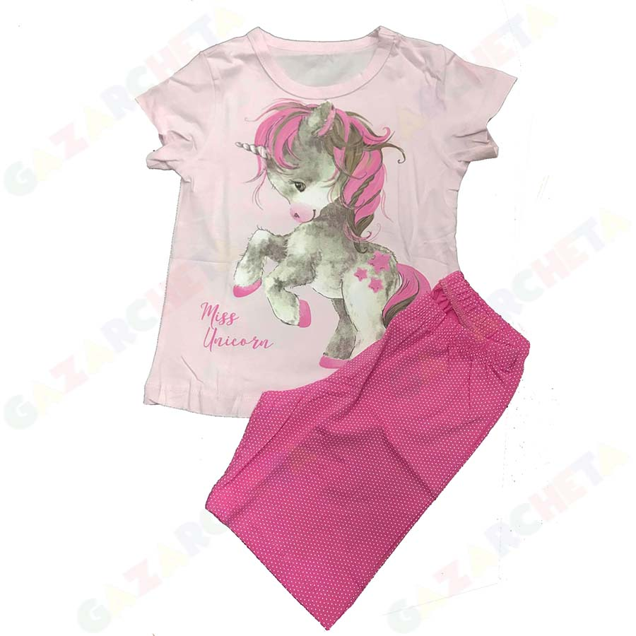Детска пижама Еднорог