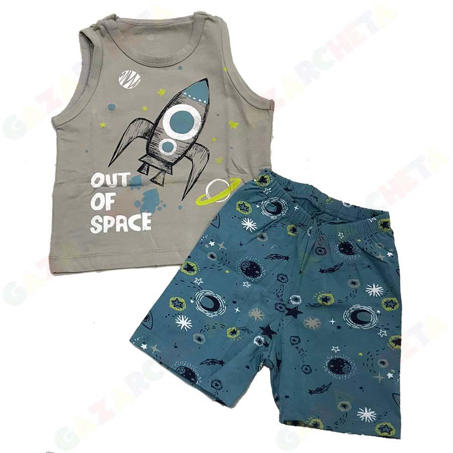 Детска пижама Ракета