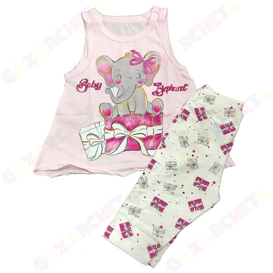 Детска пижама Слон