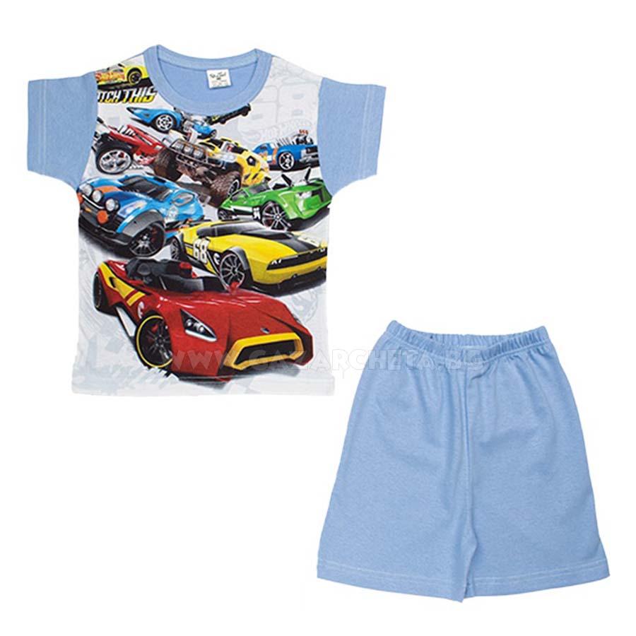 Детска пижама Коли