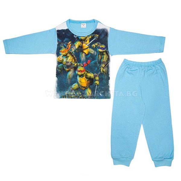 Детска пижама Костенурките Нинджа