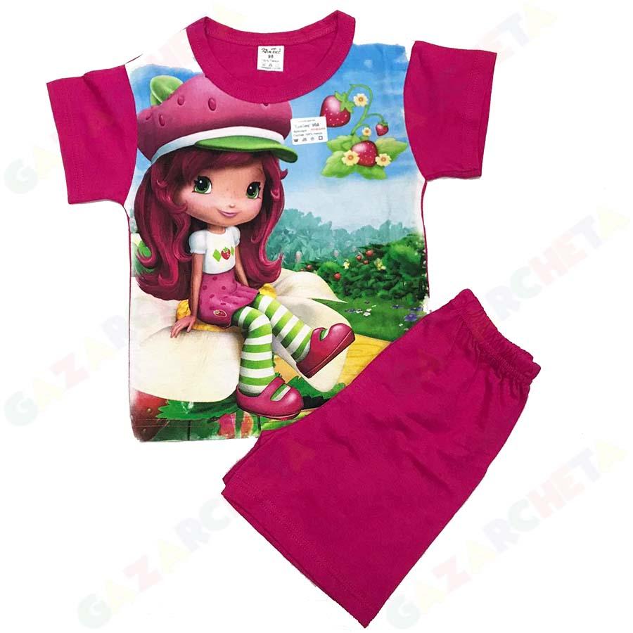 Детска пижама Ягода