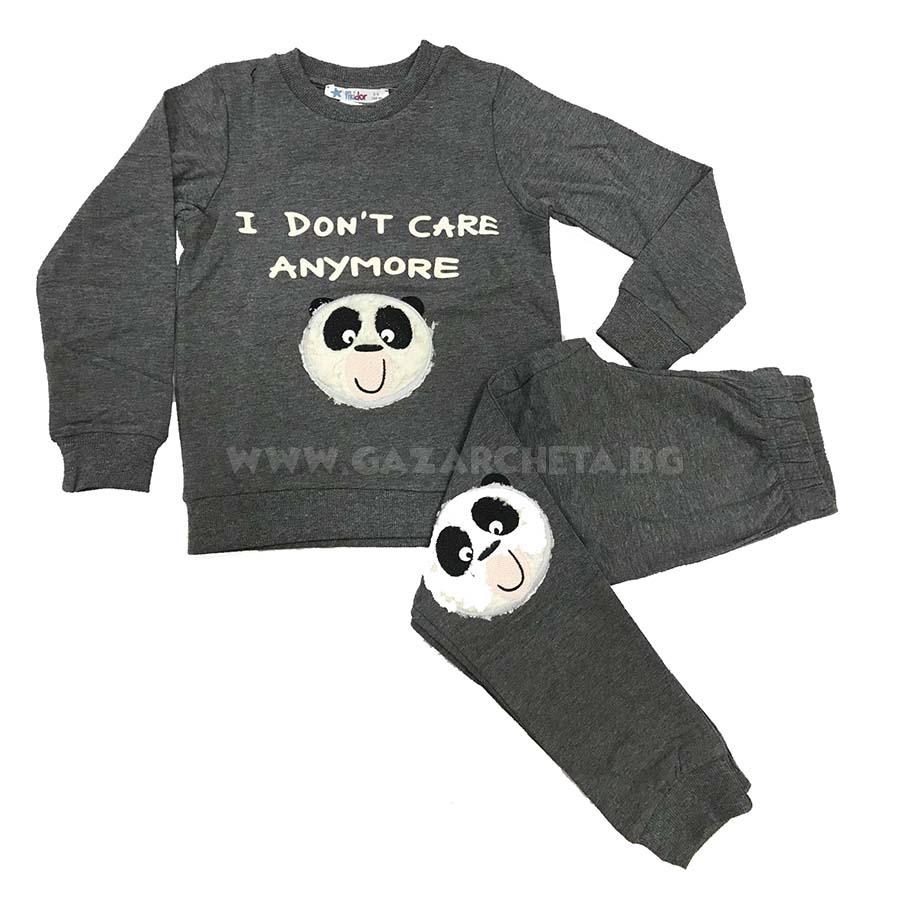Детска пижама Панда
