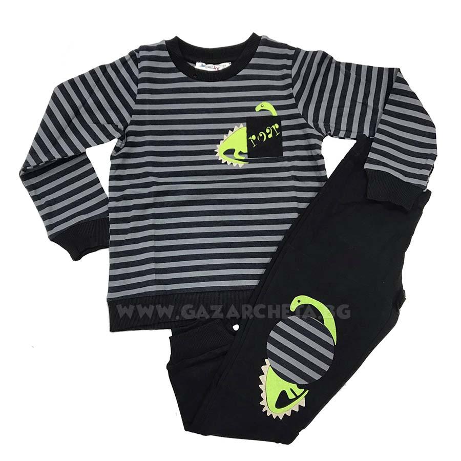 Детска пижама Дино