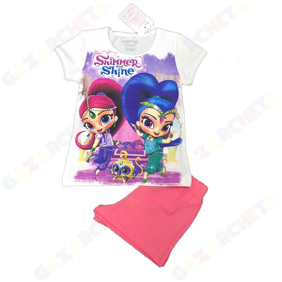 Детска пижама Искрица и Сияйница